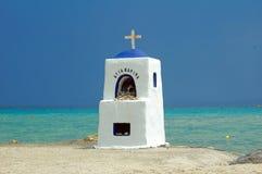 Roadside shrine on the beach. Photo of roadside shrine on the beach Stock Photography