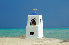 Roadside shrine on the beach. Stock Photography