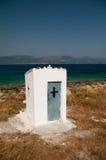 Roadside shrine, Elafoniisos Island, Greece Royalty Free Stock Photos