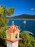 Roadside shrine in Greece Stock Photo