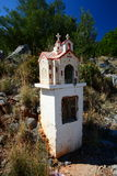 Roadside shrine, Greece Royalty Free Stock Photos
