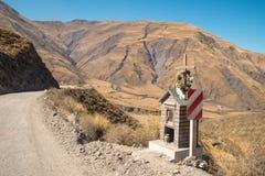 Roadside shrine Stock Images