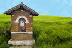 Roadside shrine, Italy Stock Photography