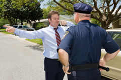 Roadside Sobriety Test Stock Photography