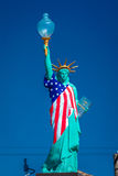 Roadside Statue of Liberty, Barstow California - Main Street USA Stock Photos