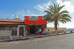Roadside Store in Israel Royalty Free Stock Image