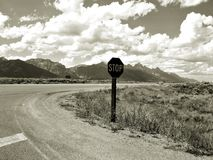 Roadside Tetons Royalty Free Stock Photo