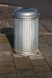 Roadside trash bin Royalty Free Stock Photos