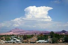 Roadside View Las Vegas. Road side view of Las Vegas town stock photos