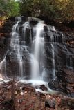 Roadside Waterfalls of North Carolina stock photo