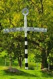 roadsign Великобритания buttermere Стоковые Фотографии RF
