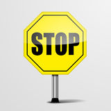 RoadSign Stop Royalty Free Stock Images