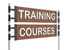 Roadsign szkolenie Zdjęcie Stock