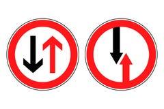 roadsigns 向量例证