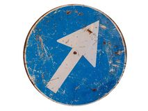Roadsigns Fotografie Stock