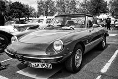 Roadster Alfa Romeo Spider Stock Photo