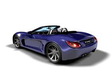 Roadster_b1 Stock Image