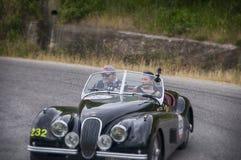 Roadster 1952 de JAGUAR XK 120 OTS Photographie stock libre de droits