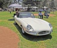 Roadster de Jaguar XKE Images stock