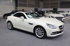 Roadster de Mercedes SLK55 AMG Photos stock