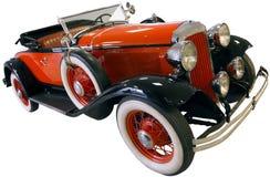 Roadster de rouge de vintage photographie stock libre de droits