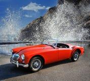 Roadster 1960 för dörr för klassiker 2 för MGA 1500 brittisk Royaltyfria Foton