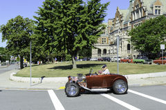 Roadster i bilkryssning Royaltyfri Bild