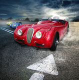 Roadsters do vintage Foto de Stock Royalty Free