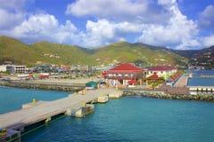 Roadtown, Tortola imágenes de archivo libres de regalías