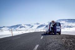 Roadtrip概念 免版税库存照片
