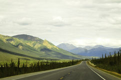Roadtrip Αλάσκα στοκ εικόνες με δικαίωμα ελεύθερης χρήσης