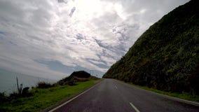 Roadtrip Νέα Ζηλανδία απόθεμα βίντεο