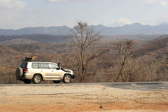 roadtrip Танзания Стоковые Изображения RF