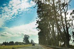 Roadtrip aan Californië Stock Foto