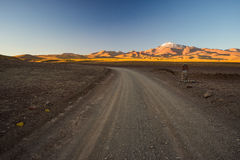 Roadtrip on the Andean highlands, Southern Bolivia Royalty Free Stock Images