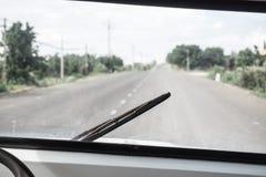Roadtrip attraverso il paese Fotografia Stock