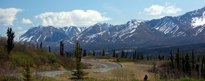 Roadtrip de Alaska Foto de Stock