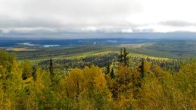 Roadtrip de l'Alaska Image libre de droits
