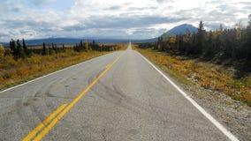 Roadtrip de l'Alaska Photos libres de droits