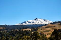 Roadtrip de Nevado de Toluca Xinantecatl imagens de stock