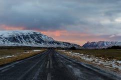 Roadtrip em Islândia Imagem de Stock Royalty Free