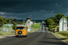 Roadtrip em Romênia Imagem de Stock