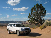 Roadtrip en Utah Images libres de droits