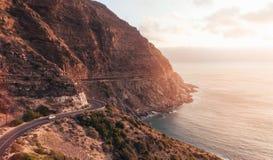 Roadtrip escénico en paisaje asombroso Fotos de archivo