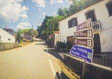 RoadTrip i Serra da Lousã Arkivbilder