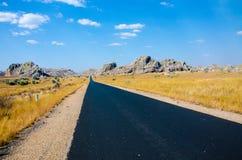 Roadtrip in Madagaskar in the Wilderness Royalty Free Stock Image