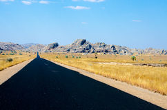 Roadtrip in Madagaskar in the Wilderness Royalty Free Stock Photo