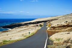 Roadtrip Maui, Hawaii. Beautiful day on the road to Maui, Hawaii Stock Image