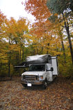 Roadtrip with motorhome in Canada Royalty Free Stock Photography
