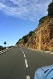 Roadtrip na Espanha de Gomera do La Foto de Stock